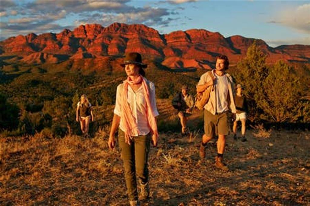 Flinders Ranges Bed and Breakfast - Walking Trails