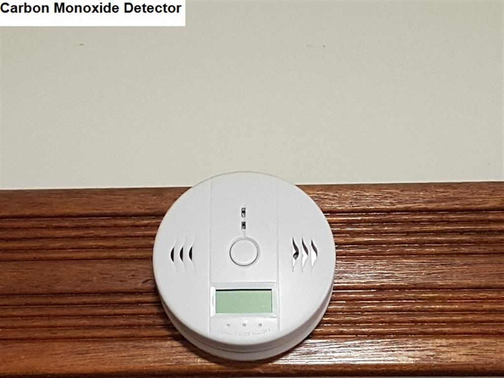 Flinders Ranges Bed and Breakfast - Carbon Monoxide Detector
