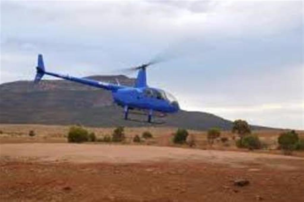 Flinders Ranges Bed and Breakfast - Helicopter Flights