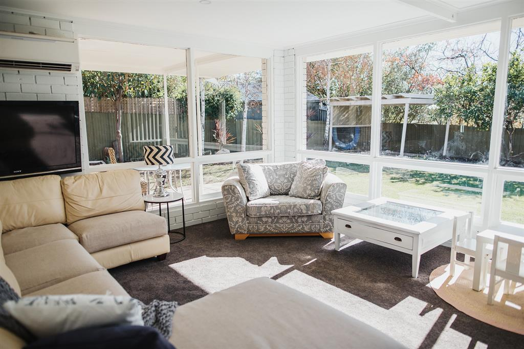 White on Wright Clare - Family Room with Garden Views