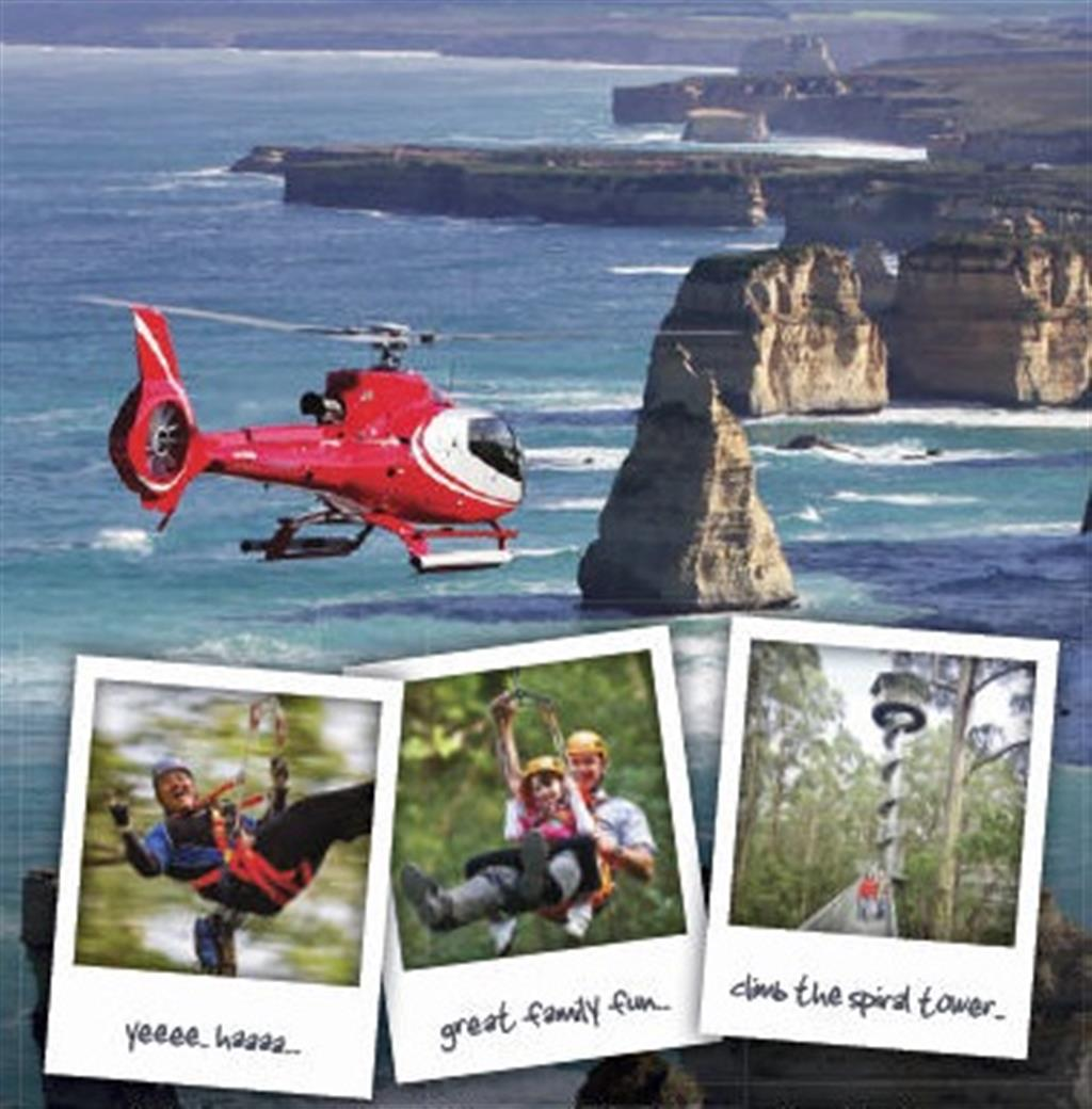 Ultimate 2 Day Great Ocean Road Tour 12 Apostles Helicopter Flights Gibson