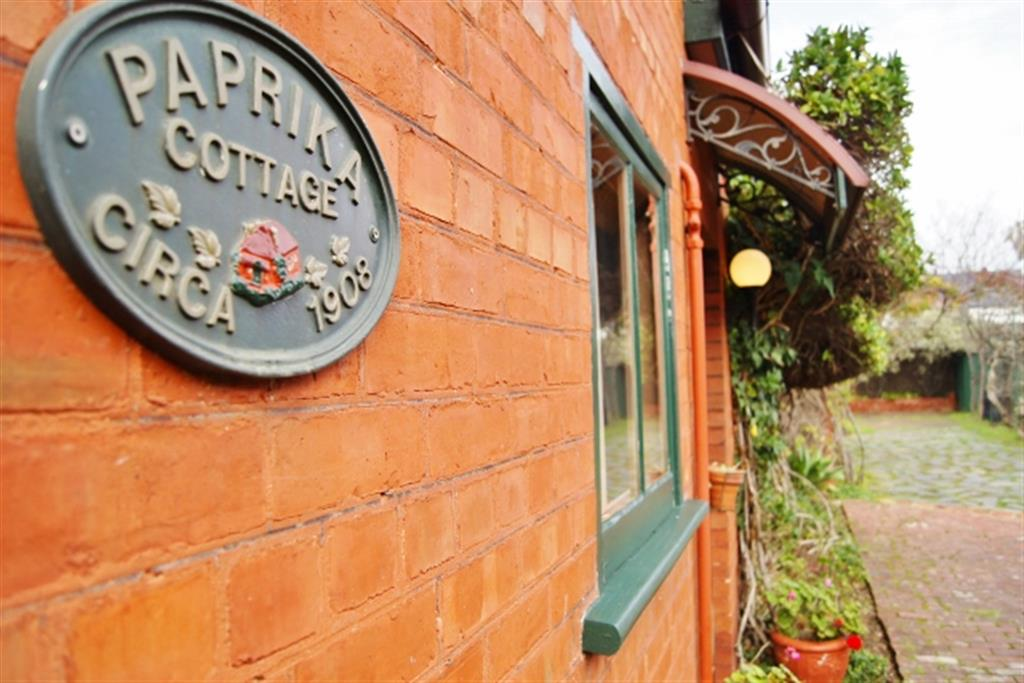 Buxton Manor - North Adelaide - Entrance to Paprika Cottage