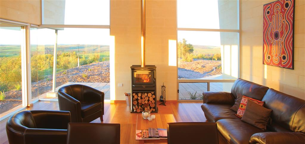 Tanonga Luxury Eco Lodges - Port Lincoln - Winter warmth