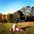 Picnic at cottages