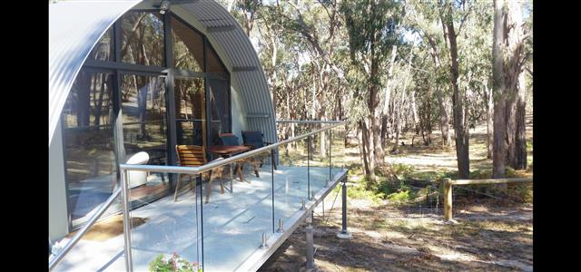 Deck - Kookaburra Cottage