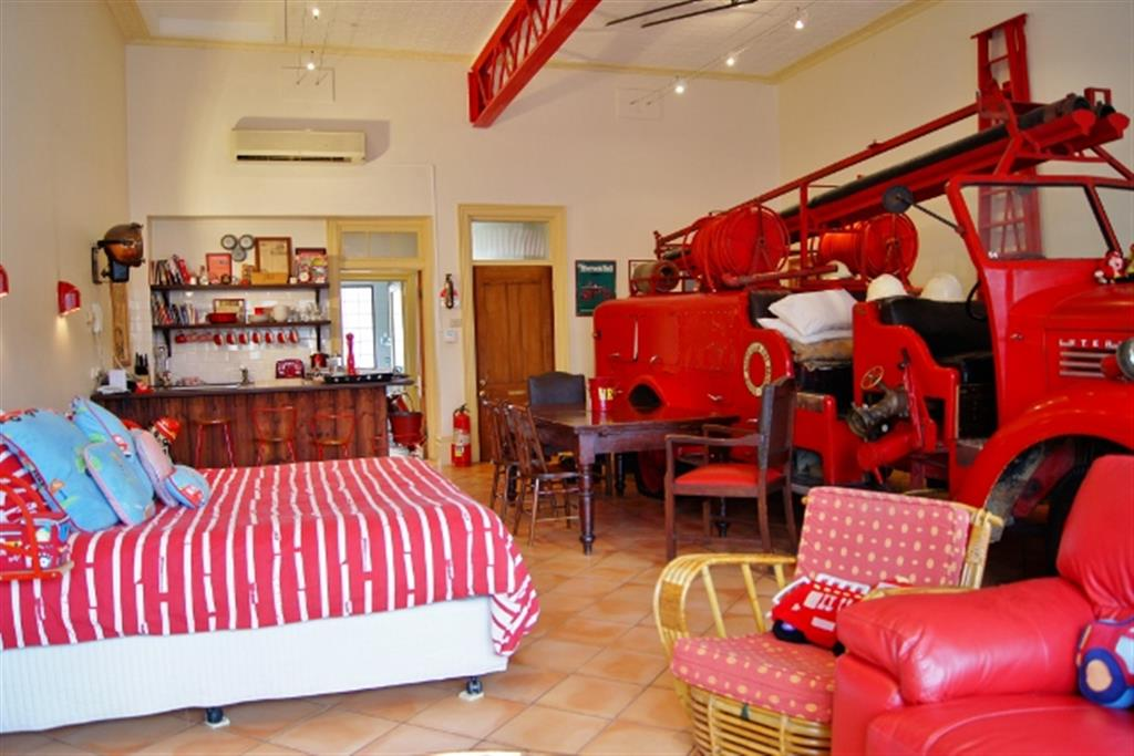 Fire Station Inn - North Adelaide - Fire Truck