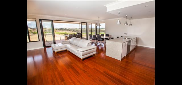 Open Living with modern finishes