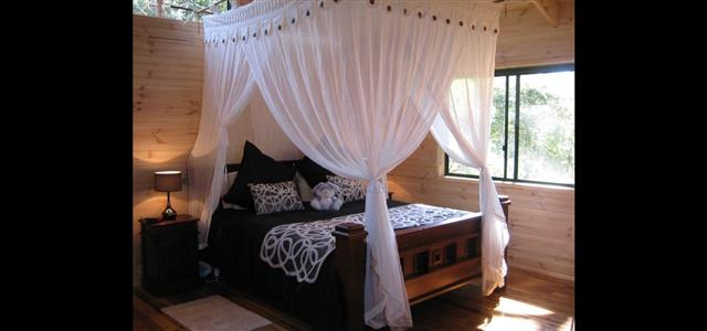 Deluxe King Spa Chalet Bedroom