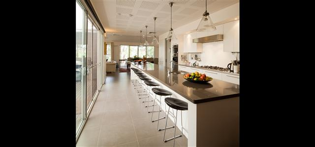 The kitchen at Thorn park by the vines